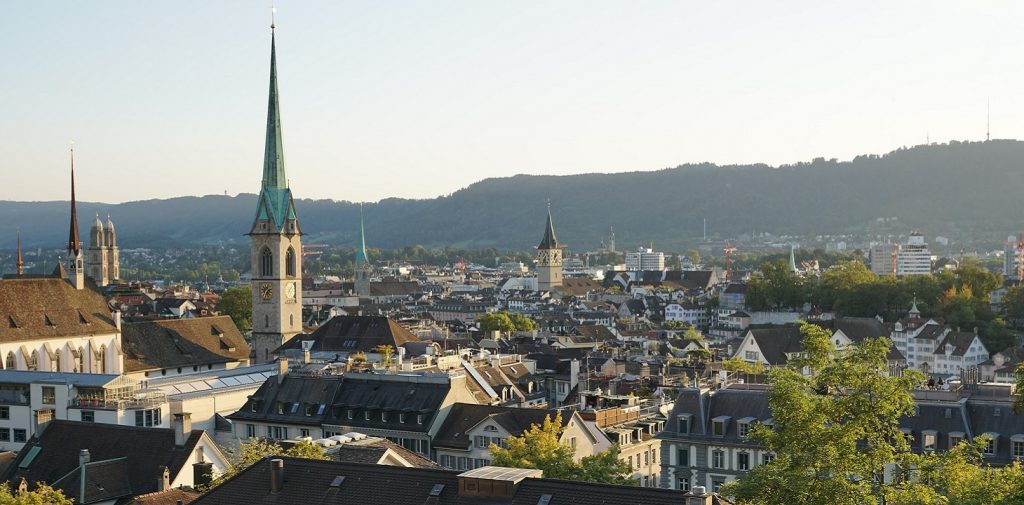 Zurych - stolica Szwajcarii