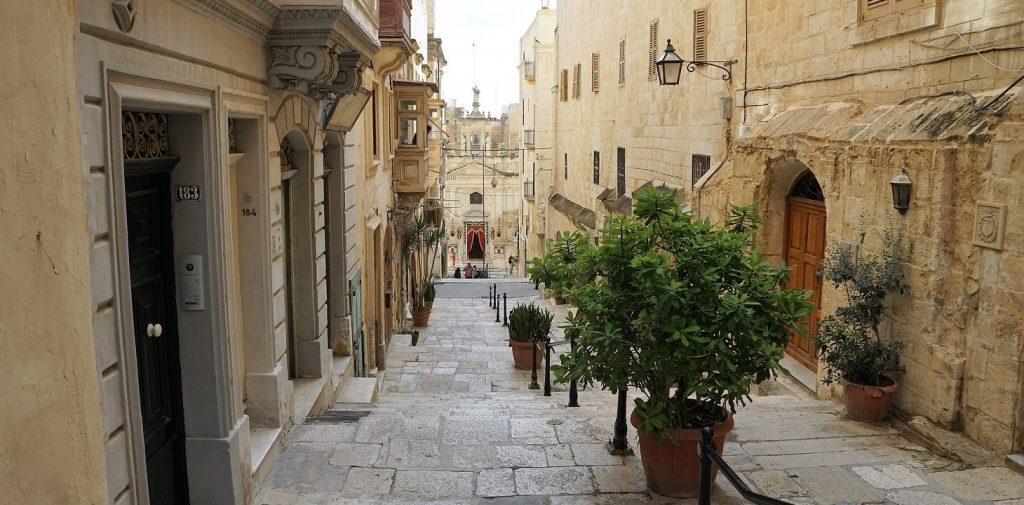 Zwiedzanie miasta Valetta